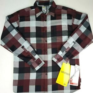 NEW Mens Burton Flannel Shirt Medium